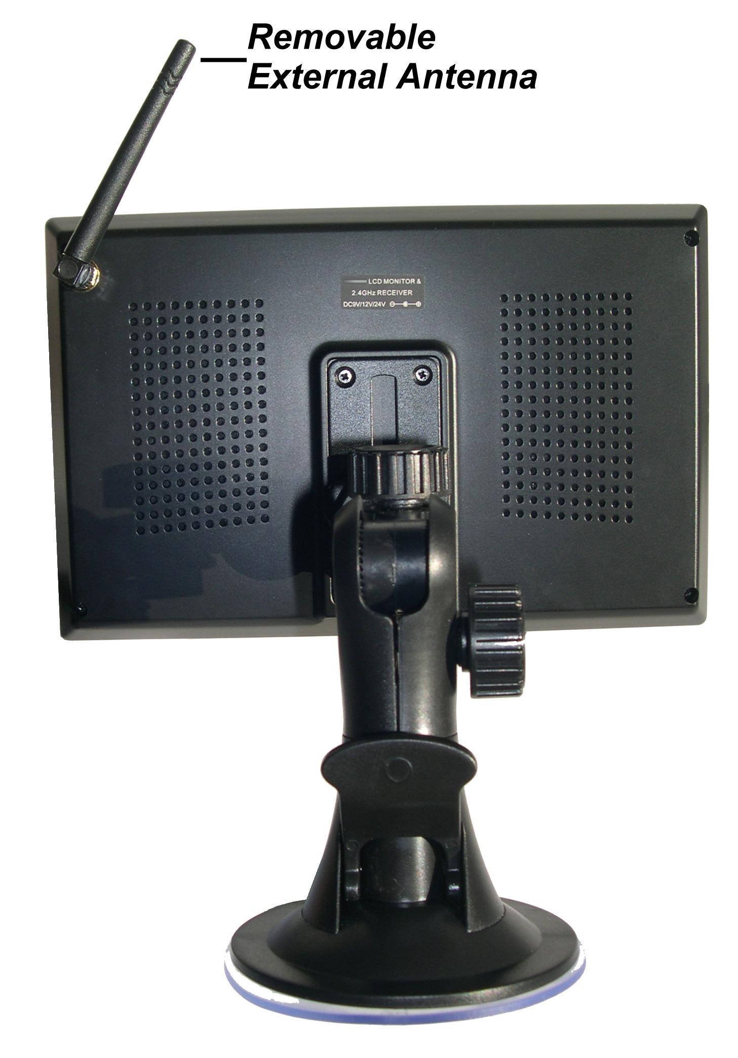 Wireless car backup camera color monitor RV Truck Trailer Rear ...