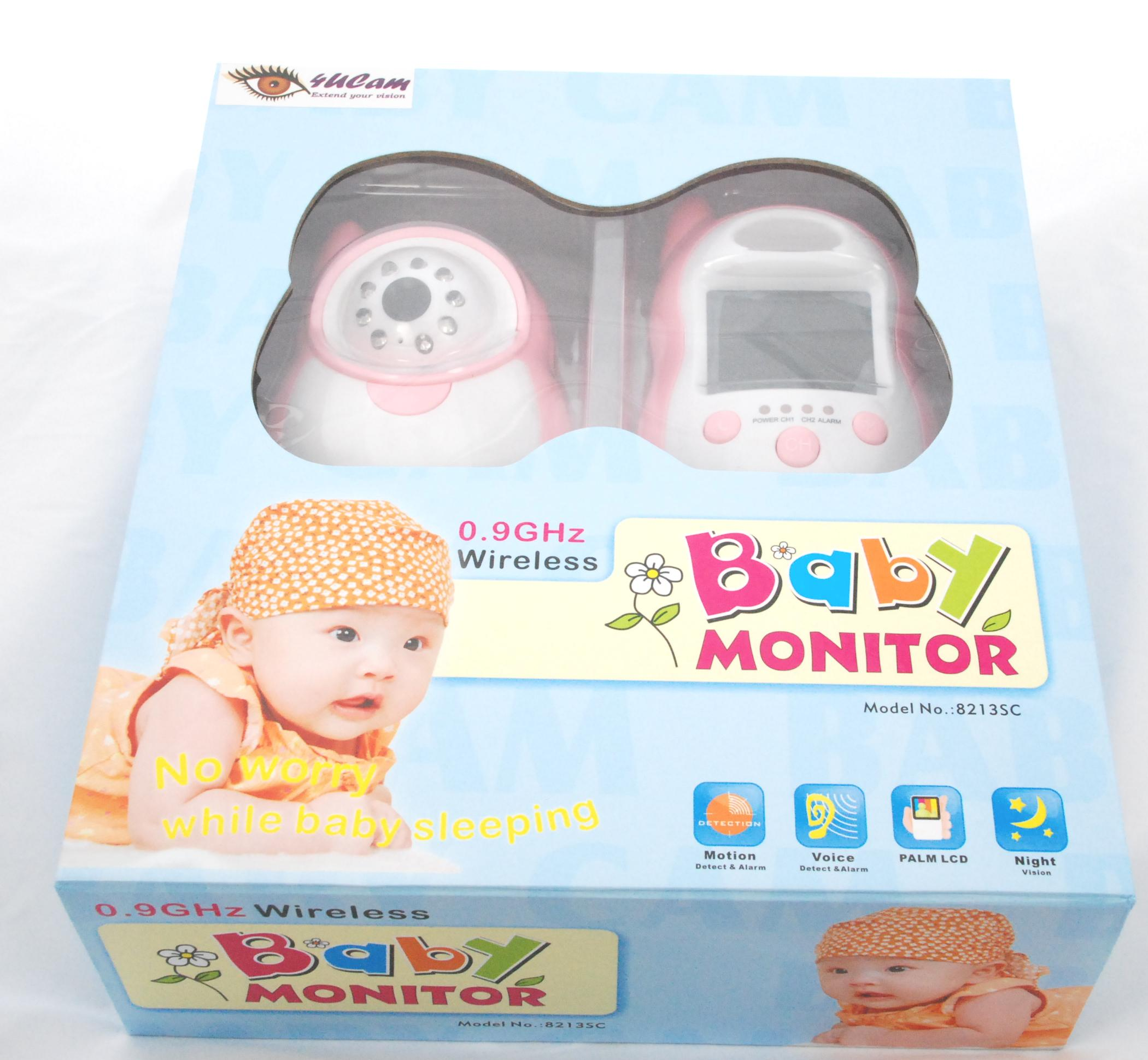 motion detection handheld 2 5 color video baby monitor and 900mhz wireless camera day. Black Bedroom Furniture Sets. Home Design Ideas