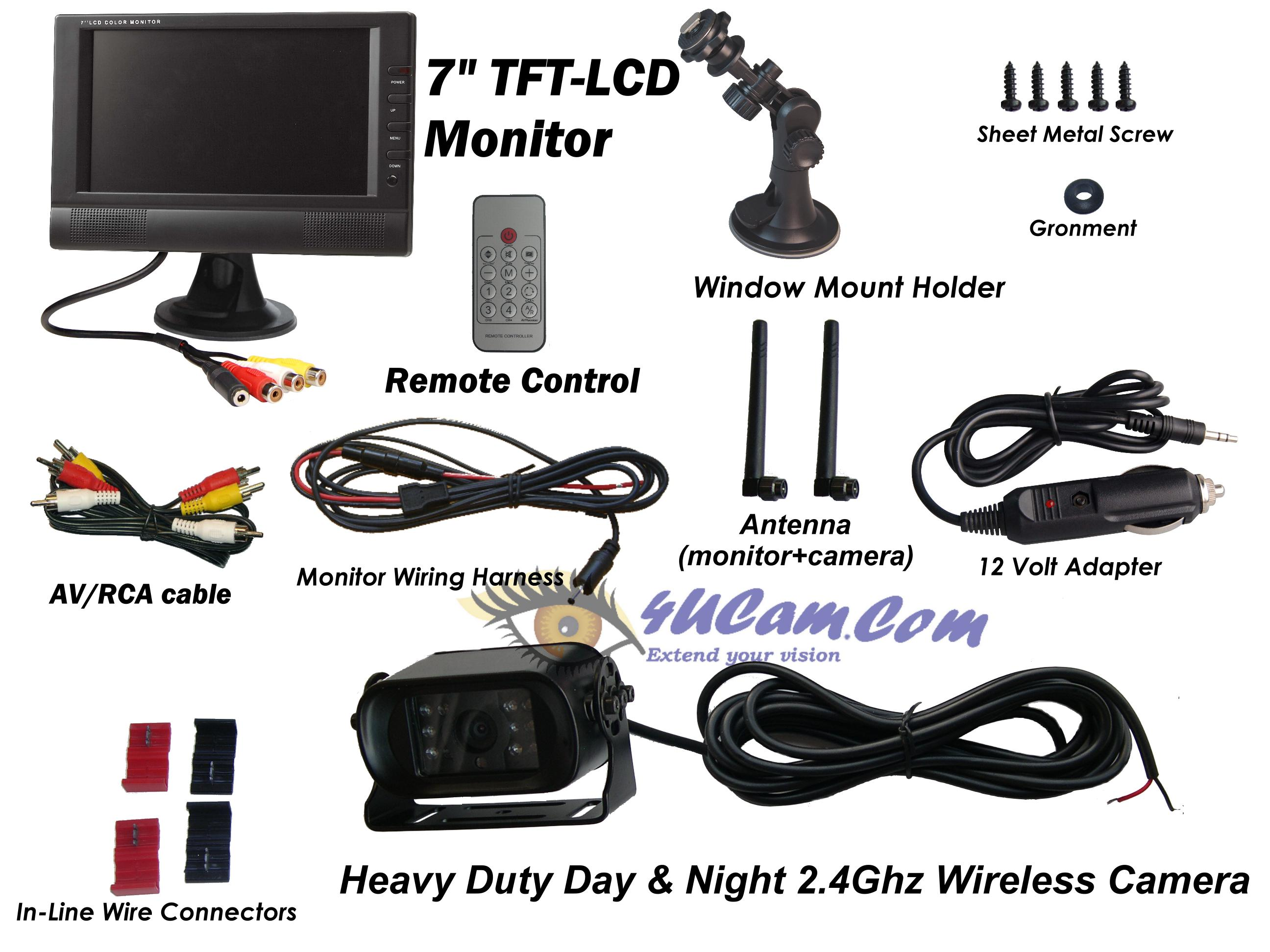 7 tft lcd monitor wiring diagram circuit and schematics. Black Bedroom Furniture Sets. Home Design Ideas
