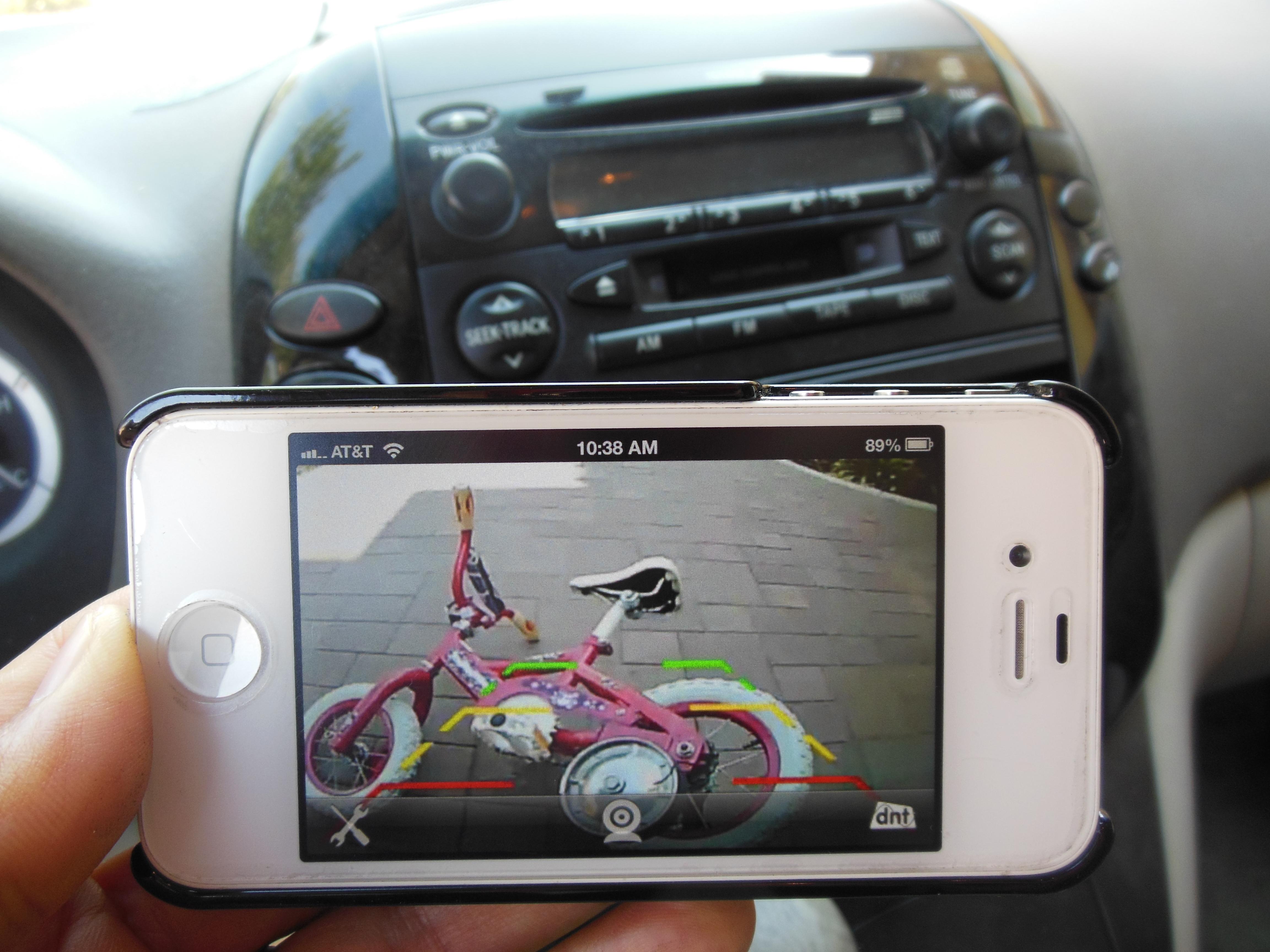 iPhone Android iPad WIFI car backup camera