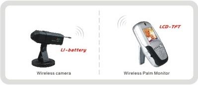 Rechargeable Li-battery built in camera