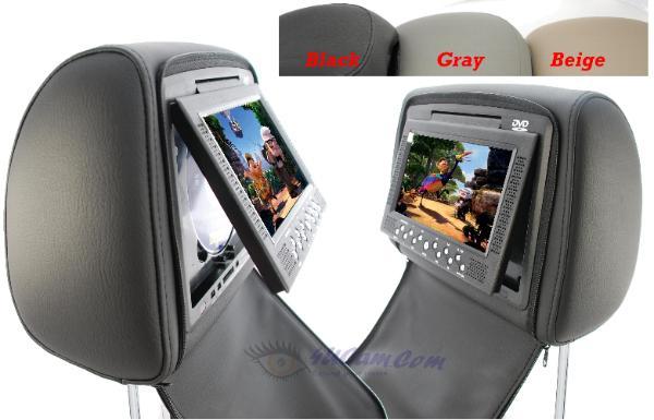 Car FM Audio System 2 Built In IR Dual Channels