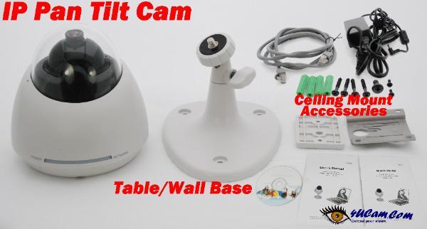 Wireless Pan Amp Tilt Internet Network Ip Camera Digital